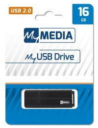 Pendrive, 16GB, USB 2.0, MYMEDIA